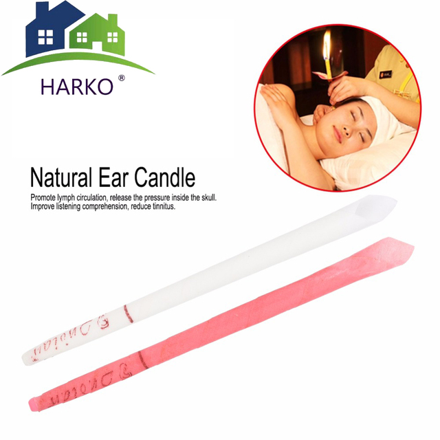 100Pcs Indian Ear Candle Massage Health Relax SPA