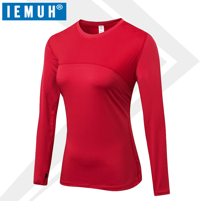 IEMUH Warm Long Johns Top Thermal Underwear Women Winter Quick Dry Anti-microbial Stretch Thermo Underwear Female European Size
