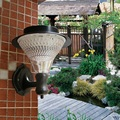 32 Led Solar Jardín de Luz Led Solar Iluminación de La Pared Lámpara De Patio/flores/Camino de Entrada/Patio Trasero 3x1200 mAh Ni-MH Batería A Prueba de agua