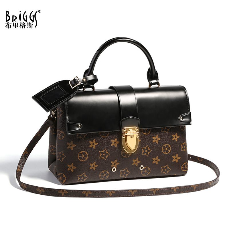 Vintage Women Bag Split Leather Bag Female Famous Brands Luxury Handbags Casual Tote Designer Shoulder Crossbody Messenger Bags women peekaboo bags flowers high quality split leather messenger bag shoulder mini handbags tote famous brands designer bolsa