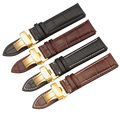 12 14 16 18 19 20 21 22 mm For Casio For Tissot For Longines Leather Watches Wrist Band Strap Bracelet Belt Straps For Hour Uomo