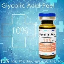 Сумасшедшая гликолевая кислота 10% гликолевая кислота кожура гликолевая кожура 10 мл пилинг гликолевая кислота химический пилинг Отшелушивающий тусклый кожу
