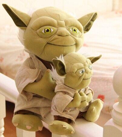 Зеленый монстр Star Wars Мудрый старик йода Кукла прихоть Кукла Дети подарок на день рождения