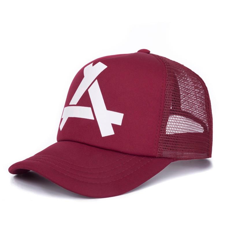 2018 boné de beisebol bordado verão malha chapéus cap malha boné de  beisebol cap sol ao aca89dffa1a
