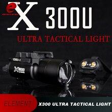 Element X300 Tactical  Weapon Lights Fits Handguns for Hunting LED Pistol M4 Rifle Flashlight  EX359 element sf m952v led flashlight weapon light mount rifle lights for tactical ek 192