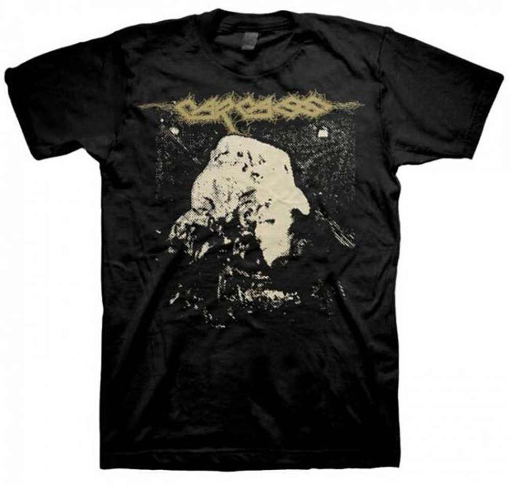 Hot Sale Fashion New Carcass Symphonies of Sickness Album Shirt (S,M,L,XL) 100% Cotton Shirts