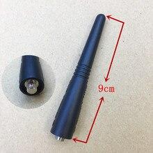 honghuismart short 5pcs/lot uhf 400 470mhz antenna for motorola gp338,gp328,gp68,gp88,gp88s,gp3188,ep450,cp040 etc walkie talkie
