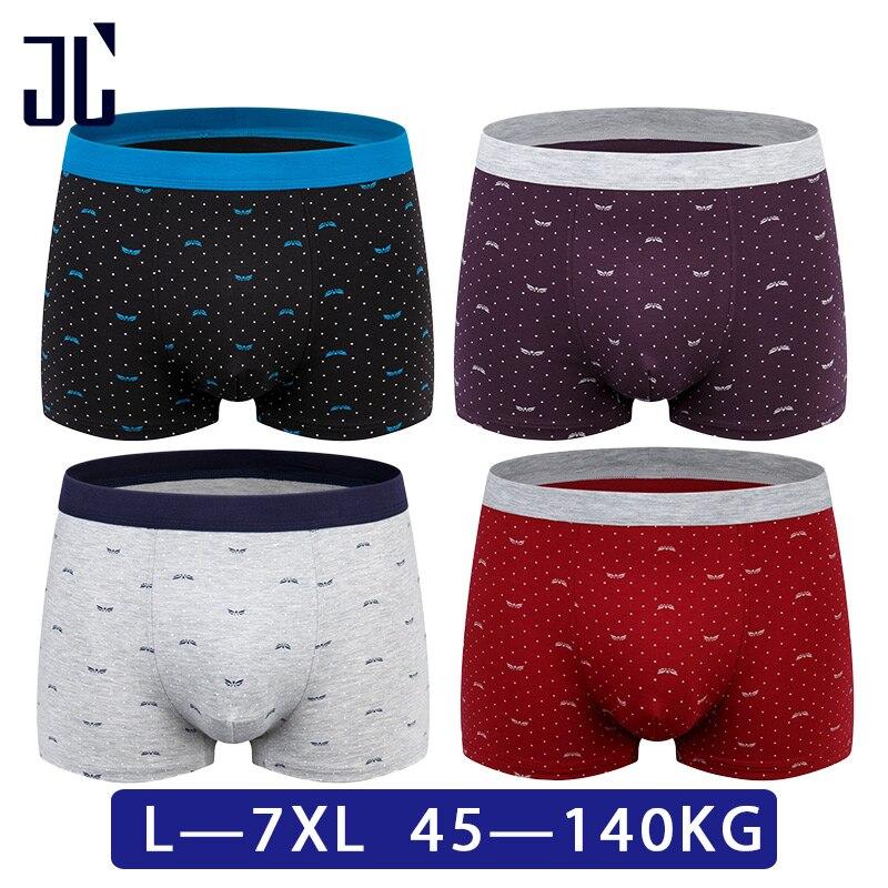 b266600434 JL 2/3/4 paket Unterwäsche Boxer Männer 100 KG L-7XL Plus Größe ...
