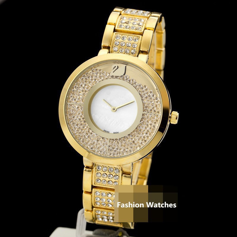 Gold Color Woman Luxury Brand Watches Japan Quartz Movement Stainless Steel Straps Men s Gifts High