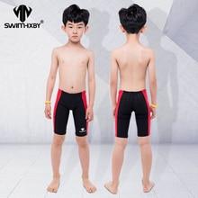 HXBY/Профессиональная детская одежда для плавания; купальный костюм для мальчиков; плавки для мужчин; одежда для плавания; плавки для мужчин; Шорты для плавания; купальный костюм