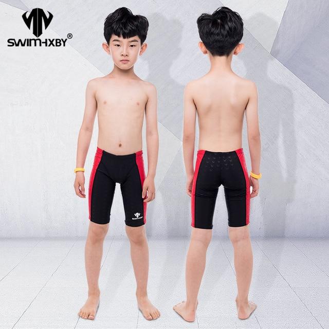 d49e6f4541 HXBY Professional Kids Swimwear Boys Swimsuit Swim Briefs Mens Swim Wear  Swimming Trunks Men Swimwear Shorts Swimsuit