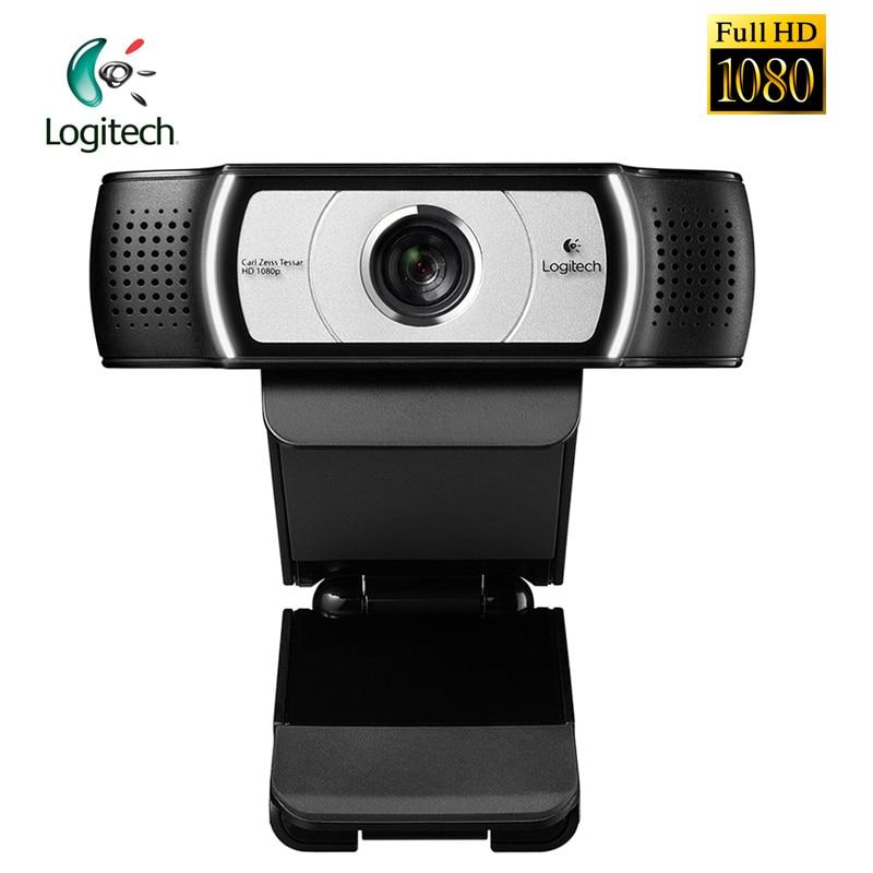 Logitech C930C 1080P FHD Garle Zeiss certyfikacji obiektyw kamera internetowa z 4 czas Zoom cyfrowy oficjalny Test dla PC detaliczna pakiet w Kamerki od Komputer i biuro na AliExpress - 11.11_Double 11Singles' Day 1