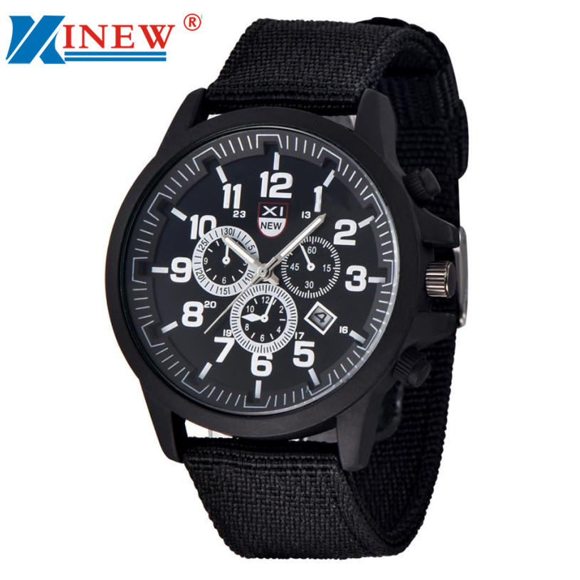 Essential XINEW Brand Watch Men Luxury Casual Male Watches Clock Mens Sports Quartz-Watch Men Watches Relogio 17Tue15 ...