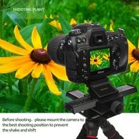 SHOOT 4 Way Macro Focusing Focus Rail Slider Close up Shooting Gimbal for Nikon p900 d600 Canon 60d 600d Sony DSLR SLR Camera