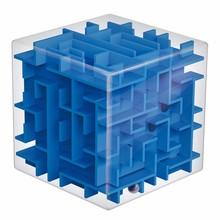 1 Pcs Transparent Maze Magic Cube  Early Childhood Educational Intelligence Gift Adult Kids Toy