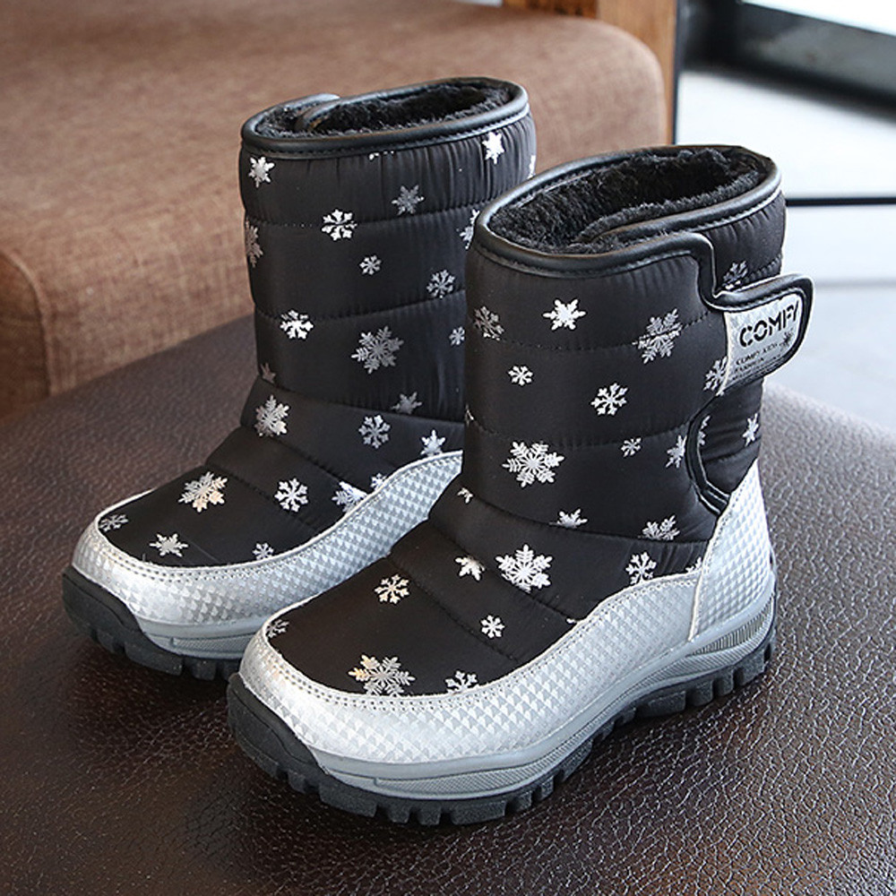 Painstaking Muqgew Children Snow Boots Shoes Winter Boots Fashion Kids Shoes Students Sneakers Boot De Bebe For Child #xtn Rapid Heat Dissipation Mother & Kids