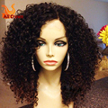 Full Lace Human Hair Wigs For Black Women Brazilian Human Hair Lace Front Wigs Baby Hair Glueless Full Lace Afro Kinky Curly Wig