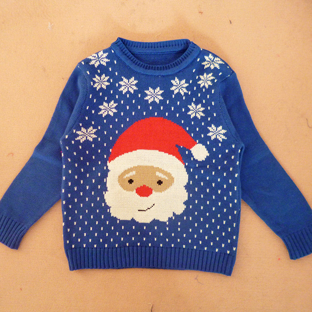 Christmas Pullover Kids Sweater Knitting Patterns For Kids Sweaters
