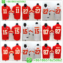 2018 New Men Kansas City Patrick Mahomes II Travis Kelce Kareem Hunt Tyreek  Hill Vapor Untouchable Limited Player Jersey 4f8be498f
