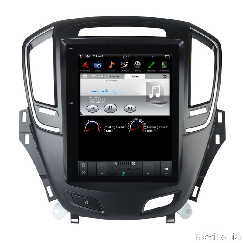 """10.4"""" Tesla Style Vertical Screen Android 7.1 Car GPS"""