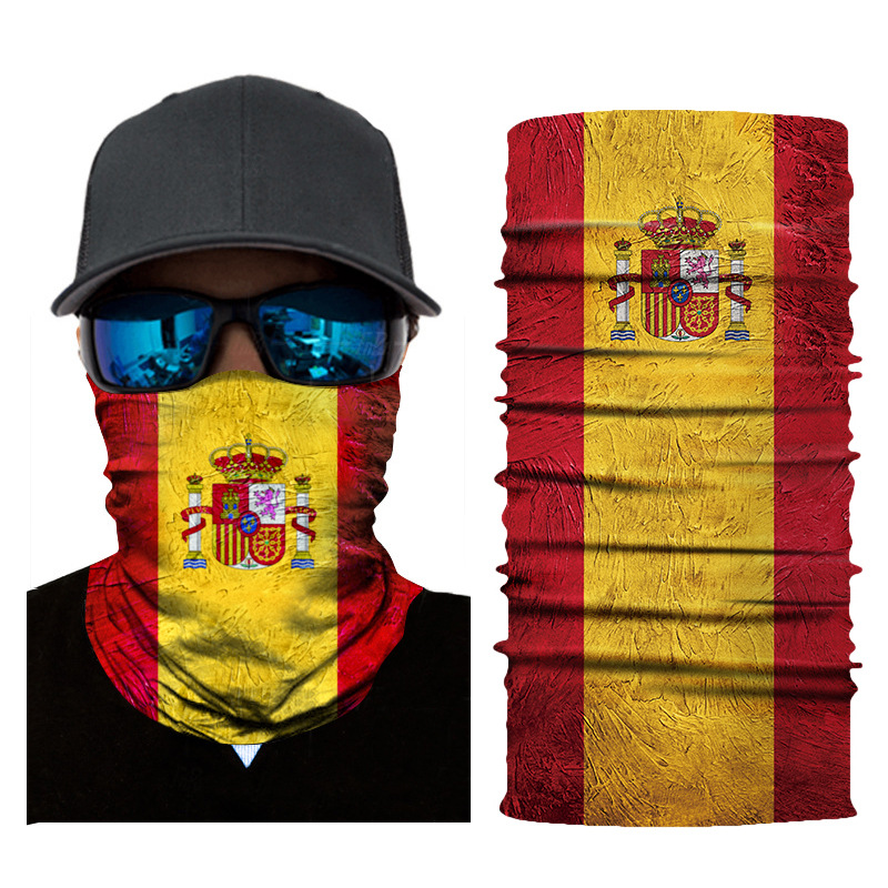Image 3 - Hiking Scarf Sport Headwear Seamless Bandana Outdoor Fishing Cycling National Flag Scarves Motorcycle Face Mask Turban HandBand-in Scarves from Sports & Entertainment