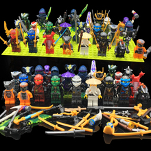 24 шт./лот Ninjago Legoings строительный блок фигурка классические фигурки строительные игрушки для детей коллекционные забавные кирпичи фигурки