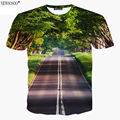 Newsosoo brand new style 2017 Harajuku Beautiful scenery 3D printed t shirt men summer style men's t-shirts  Unisex  tops A12