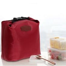 Водонепроницаемый Тепловая Cooler Изоляцией Обед Мешок Хранения Портативный Пикник Мешки С Тканью 8.27*3.15*10.63 Дюймов 4 Corlors # LD789