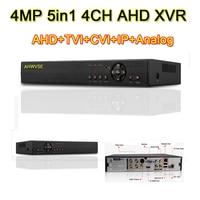4MP CCTV DVR 8ch H.264 AHD DVR NVR 8ch цифрового видео Регистраторы для видеонаблюдения 4MP HDMI видеовыход Поддержка аналоговый AHD IP камера