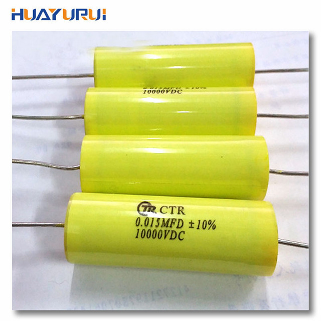 Free shipping 2pcs high voltage capacitor 10000v 0015uf 10kv 10000v free shipping 2pcs high voltage capacitor 10000v 0015uf 10kv 10000v dc ehv film capacitors sciox Choice Image