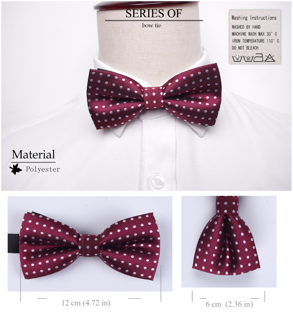 Bowtie men formal necktie boy Men's Fashion business wedding bow tie Male Dress Shirt krawatte legame gift 8
