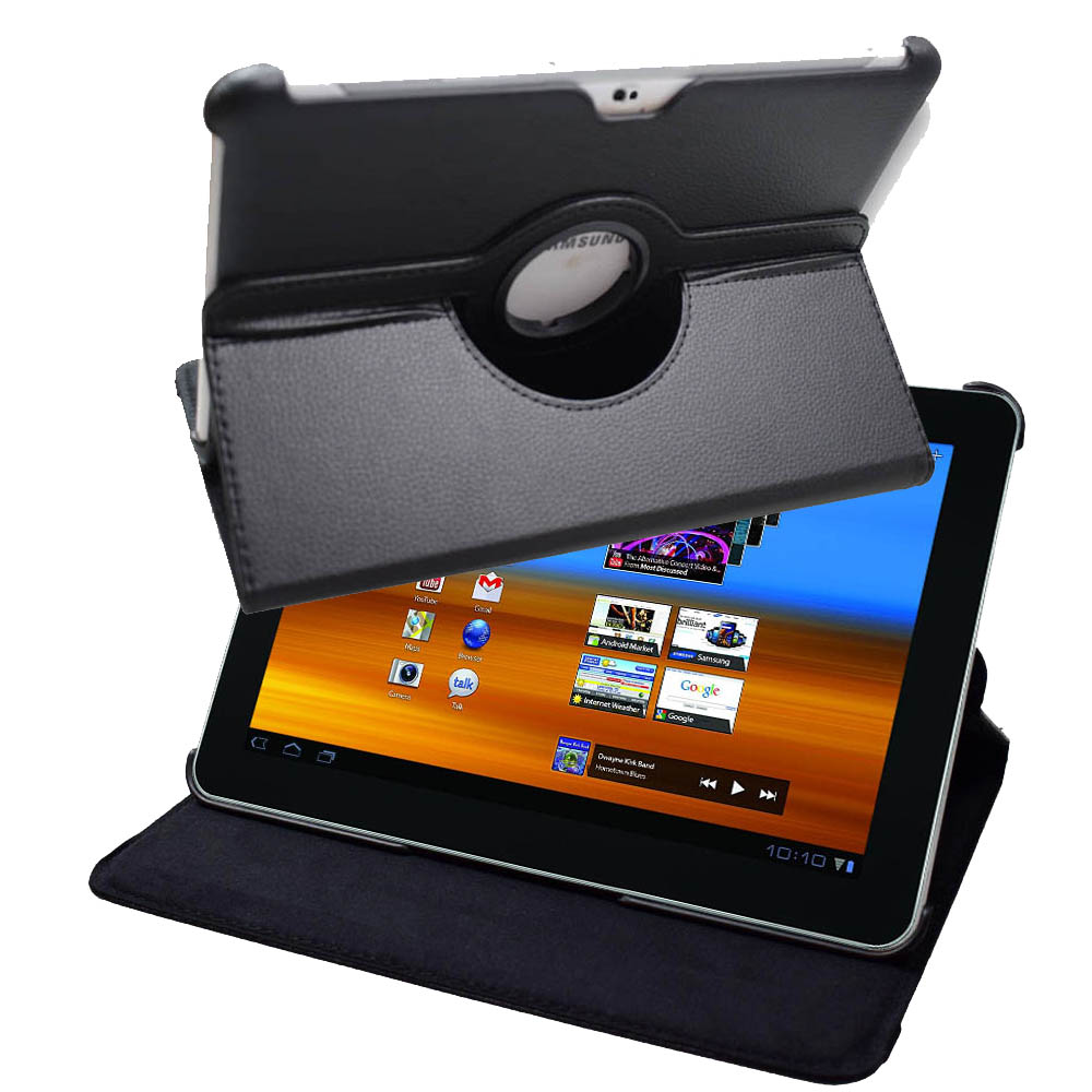 Afesar GT P7500 360 Rotating Stand Pu Leather Cover Flip Case For Samsung Galaxy Tab P7500 P7510 (10.1
