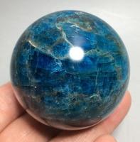 279g Raw NATURAL Apatite QUARTZ CRYSTAL BALL HEALING mineral L123 swarovski crystals