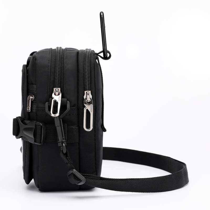 Man Handbags Mini Messenger Bag Children Simple Small Crossbody Cell Phone Waist Pack Casual Ladies Flap Shoulder Bag Coin Purse