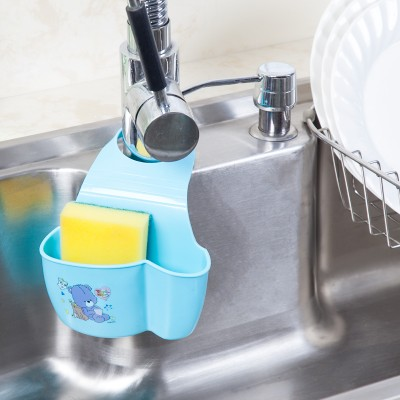 Permalink to Kitchen Faucet Accessories kitchen sink drop hanging bags Sink Drain Shelves kitchen Storage Hanging bag 14*4.5*7cm