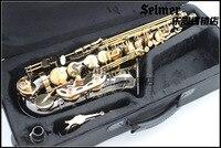 2015 новый высококачественный Саксофон альт R 54 Музыкальные инструменты профессиональный E flat sax alto черный саксофон альт