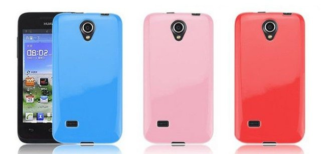 10PCS/LOT Protective Soft TPU Gel Back Case For Huawei U8825D Ascend G330 Cell Phone Cover 5 color Wholesale  free shipping
