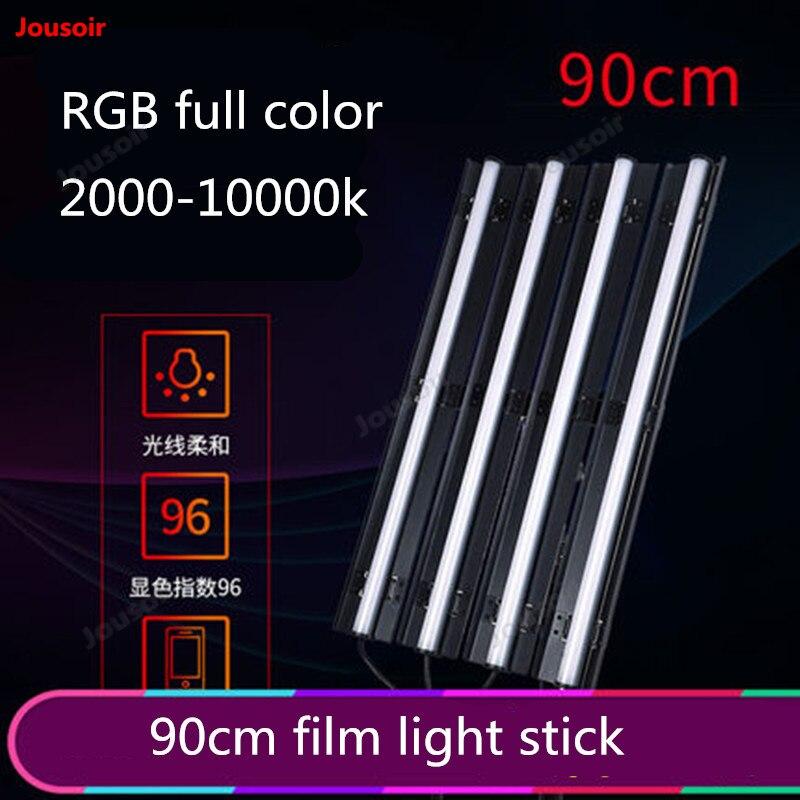 90cm Film Light Bar LED Photo Fill Light RGB Color Photography Light Tube Light Set T03 NO00DG