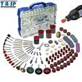 TASP 268 piezas eléctrica Mini taladro accesorios herramientas Compatible con herramienta rotativa Dremel para moler pulido