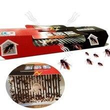 30Pcsบ้านแมลงสาบแมลงสาบกับดักฆ่าเหยื่อStrong Sticky CatcherกับดักแมลงPest Repeller Eco Friendly