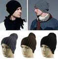 Fashion New Unisex Men Women Boys Hip-Hop Winter Warm Wool Knit Ski Beanie Skull Cap Hat 5 Colors Drop Shipping