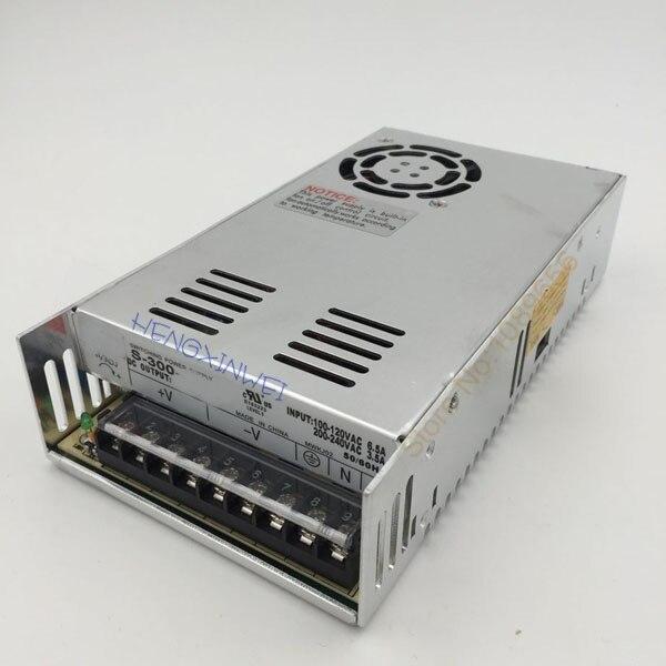 Вход Один выход Импульсный блок питания 300 Вт 15 в 20A 5 в 50A ac в dc источник питания ac dc преобразователь S-300-5 S-300-15