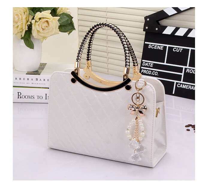 Brand Bag Cute Tote 2019 New Fashion Designer Large PU Leather Tote Shoulder Bag Handbag Ladies