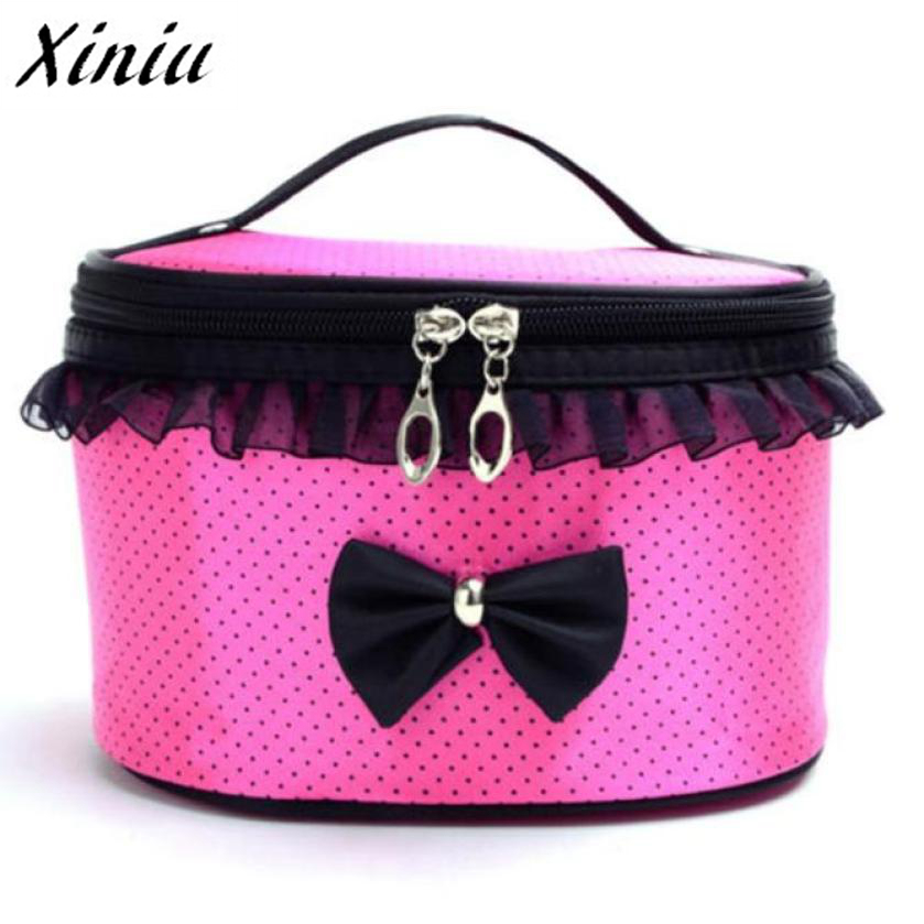 Xiniu Toiletry Makeup Cosmetic Bag Organizer Holder Beauty Case Women Cosmetic Bag Travel Makeup Make up Storage Travel #121 ladsoul 2018 women multifunction makeup organizer bag cosmetic bags large travel storage make up wash lm2136 g