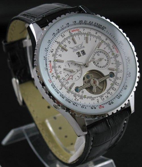 Mens AUTO Mechanical 5 Hands Multi Function Fashion Watch freeship new date show mens auto mechanical watch chrono freeship cool