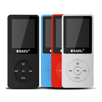 100 Original RUIZU X02 MP3 Untrathin Protable Mp3 Player 80hours Play Music Player With 1 8inch