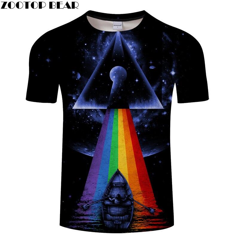 T-shirts Cool Design Printing Men Fashion Tops&Tees 3D T shirts Funny Casual Round Collar drop ship tshirts ZOOTOP BEAR