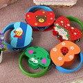 5 Styles Wooden Children Rattle Hand Bell Newborn Baby Musical Educational Toys Shaking  Rattles Sound Enlighten Gift TF0031