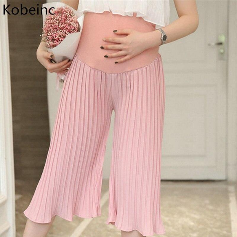 8cd0cec60b7e Kobeinc Καλοκαιρινά χαλαρά σιφόν Πλεκτά παντελόνια για γυναίκες ...
