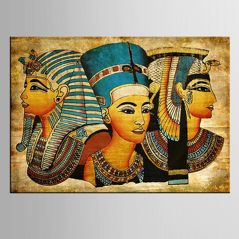 1 Pieces Pharaoh Of Ancient Egypt Wall Art Picture Home